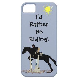 Jag skulle rider ganska! Häst iPhone 5 Hud