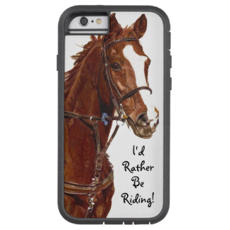 Jag skulle rider ganska! Hästfodral Tough Xtreme iPhone 6 Fodral