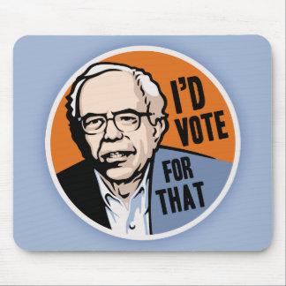 Jag skulle röstar för det musmatta