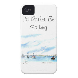 Jag skulle seglar ganska - Monterey Kalifornien iPhone 4 Case-Mate Cases