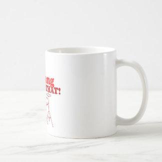 Jag skulle smäll det! kaffemugg