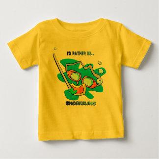 Jag skulle Snorkeling ganska T-shirt
