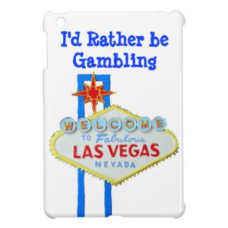 Jag skulle spelar ganska Vegas iPad Mini Skydd