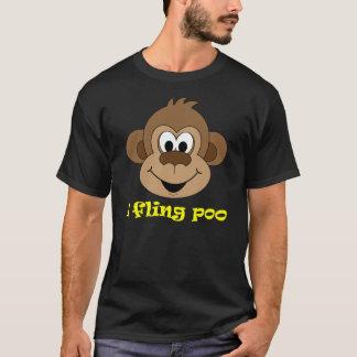 Jag slänger poo. t-shirt