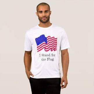 Jag står för flaggaskjortan t-shirts