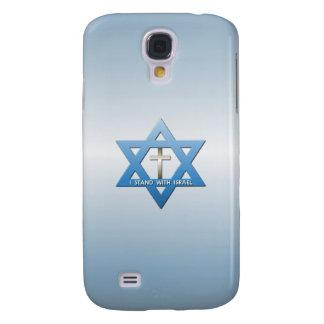 Jag står med den Israel kristenkor Galaxy S4 Fodral