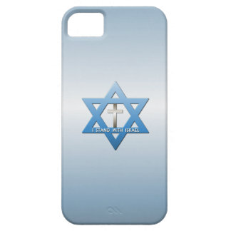 Jag står med den Israel kristenkor iPhone 5 Case-Mate Cases