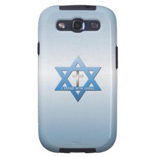 Jag står med den Israel kristenkor Galaxy S3 Cases