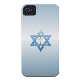 Jag står med den Israel kristenkor iPhone 4 Hud