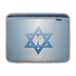 Jag står med den Israel kristenkor MacBook Air Sleeve