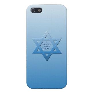 Jag står med Israel iPhone 5 Skal