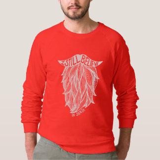 Jag stillar tror i Santa Tshirts