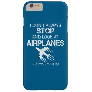 JAG STOPPAR INTE OCH SER ALLTID FLYGPLAN BARELY THERE iPhone 6 PLUS SKAL