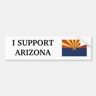 Jag stöttar Arizona Bildekal