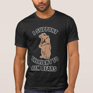 Jag stöttar rakt till armbjörnT-tröja T Shirt