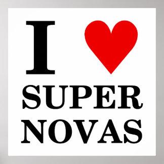 Jag SuperNovas (för hjärta) poster