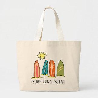 Jag surfar Long Islandet Jumbo Tygkasse