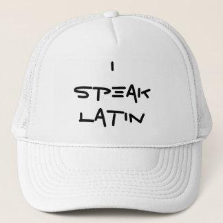 Jag talar den latinska hatten keps