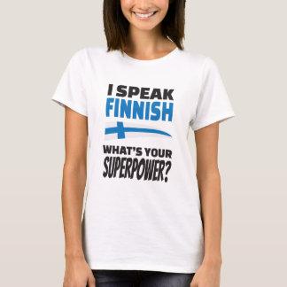 Jag talar finska - är vad din Superpower? Tee
