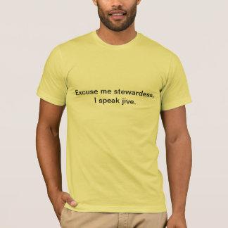 Jag talar jive. t-shirt