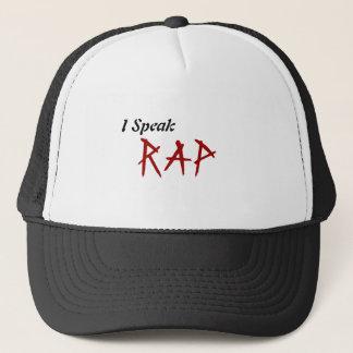 Jag talar rappar! keps