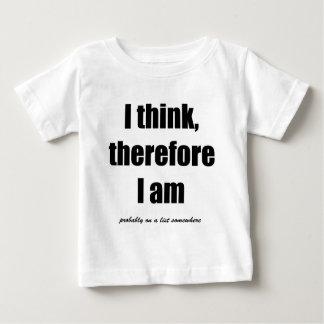 Jag tänker, därför mig förmiddagen antagligen på tshirts