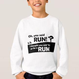 Jag tänkte att du sade rom t shirt