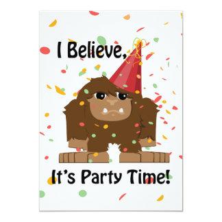 Jag tror det är inbjudan för det partyTime Bigfoot