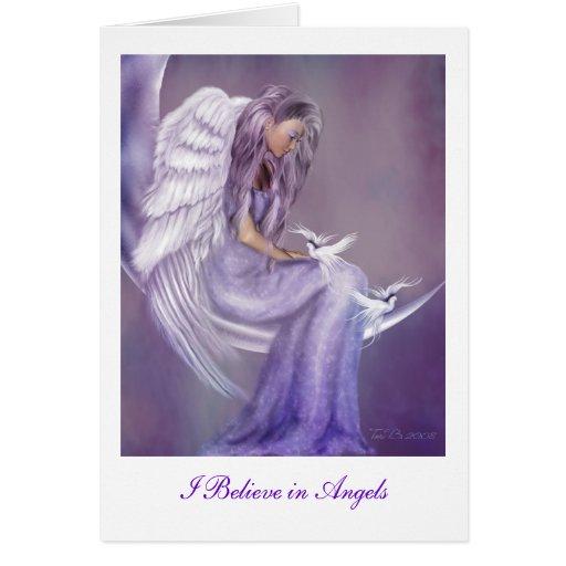 Jag tror i änglar kort