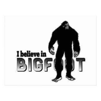 Jag tror i BIGFOOT Vykort