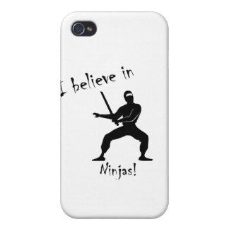 Jag tror i ninjas! iPhone 4 fodraler