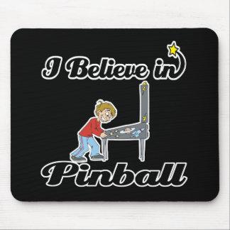 jag tror i pinball musmatta