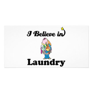 jag tror i tvätt skräddarsydda fotokort