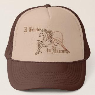 Jag tror i Unicornshatt Keps