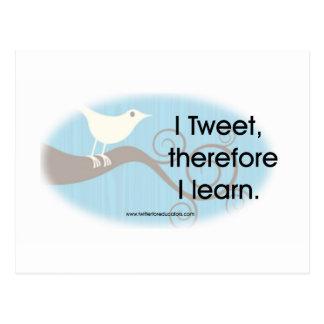 Jag Tweet Vykort