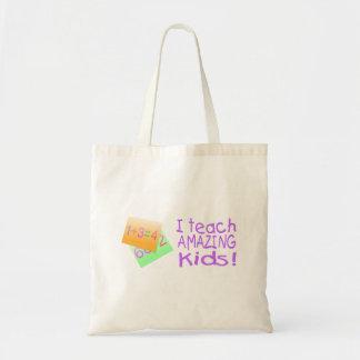 Jag undervisar fantastisk ungar (numrerar), budget tygkasse