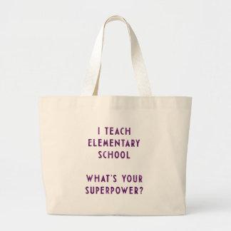 Jag undervisar grundskolan vad är din Superpower? Jumbo Tygkasse