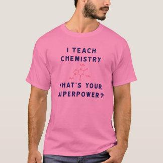 Jag undervisar kemi vad är din Superpower? Tröjor