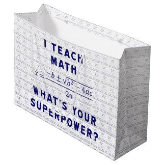 Jag undervisar Math vad är din Superpower?