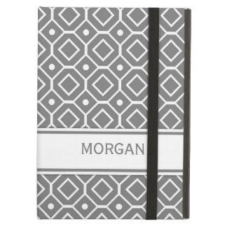 jag vadderar mönster för kända grå färg för anpass iPad air skydd