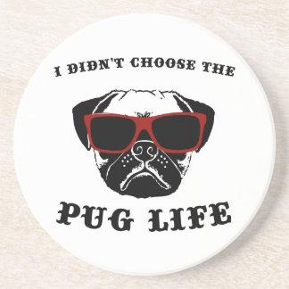 Jag valde inte hunden för mopslivcoolan underlägg sandsten