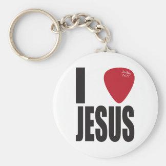 Jag väljer Jesus grundläggande Keychain Rund Nyckelring