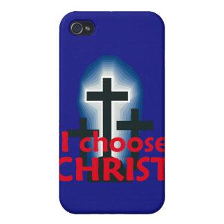 Jag väljer KristusSpeckfodral iPhone 4 Cover