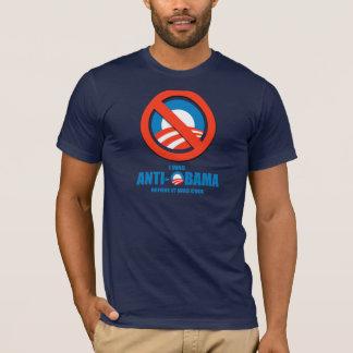 Jag var Anti-Obama, för det var den kalla T-tröja Tröjor