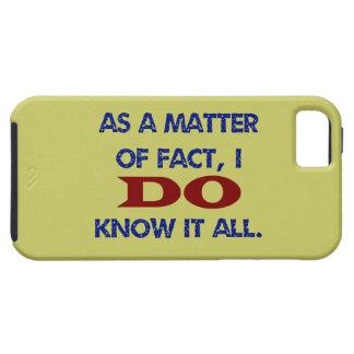 JAG vet allt det iPhone 5 Skydd