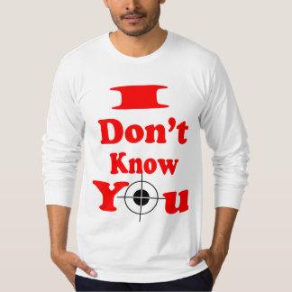 Jag vet inte Du-Lång sleeveskjorta (2) Tee Shirt