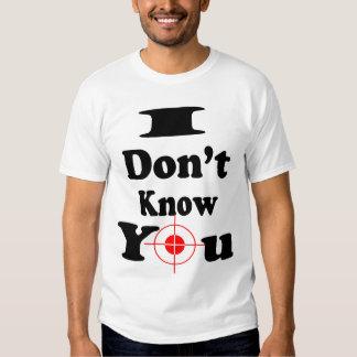 Jag vet inte Du-Muskeln skjorta (2) Tshirts