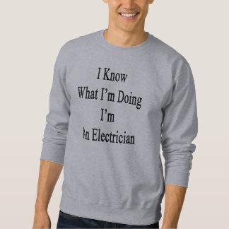 Jag vet vad I-förmiddagen som gör I-förmiddag en Sweatshirt