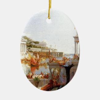 Jaga av välde: Consummationen… Julgransprydnad Keramik