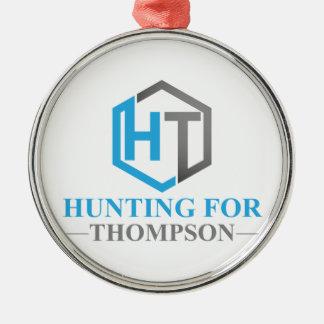 Jaga för Thompson Julgransprydnad Metall